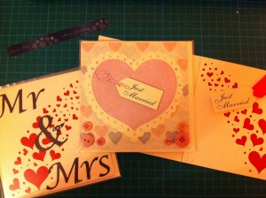 Just a few of the cards I made for the fair...