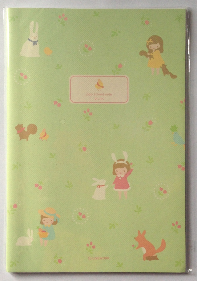 green notebook small