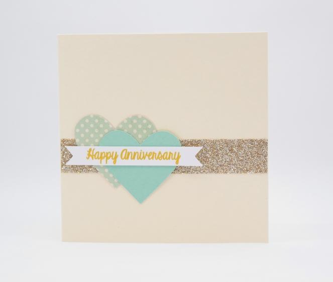 Anniversary glitter