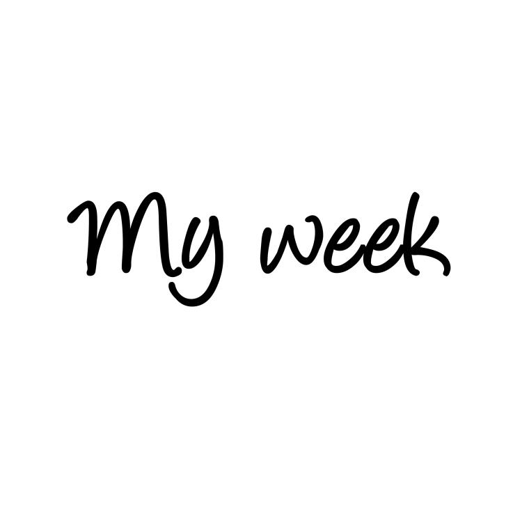 my week