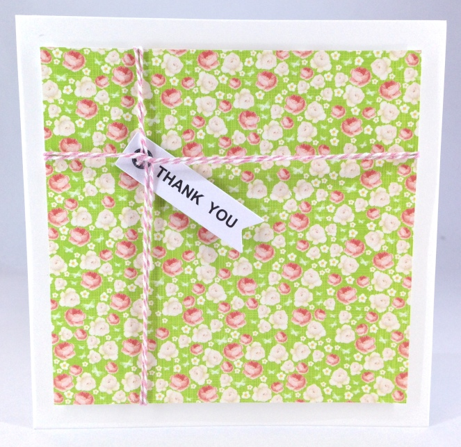 present thank you