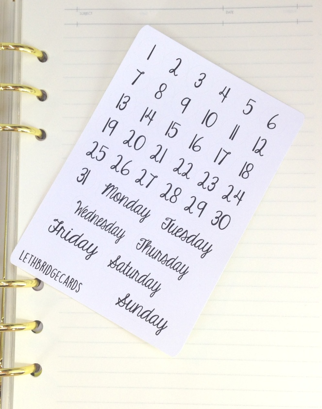 calendar cover up