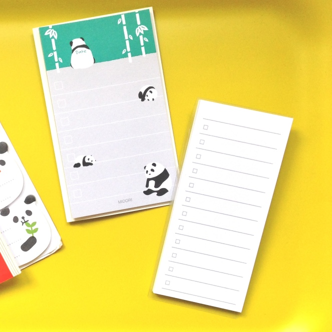 checklist post its