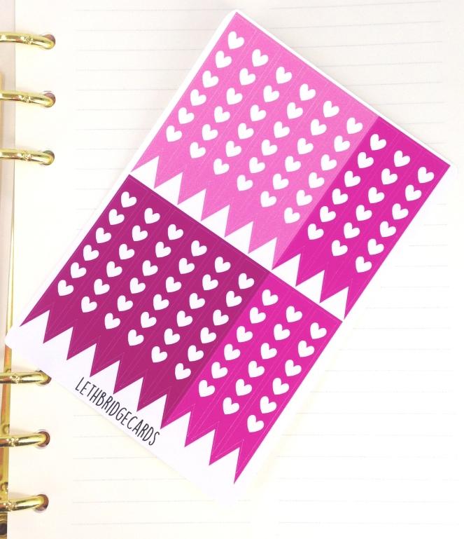 happy planner pink checklist