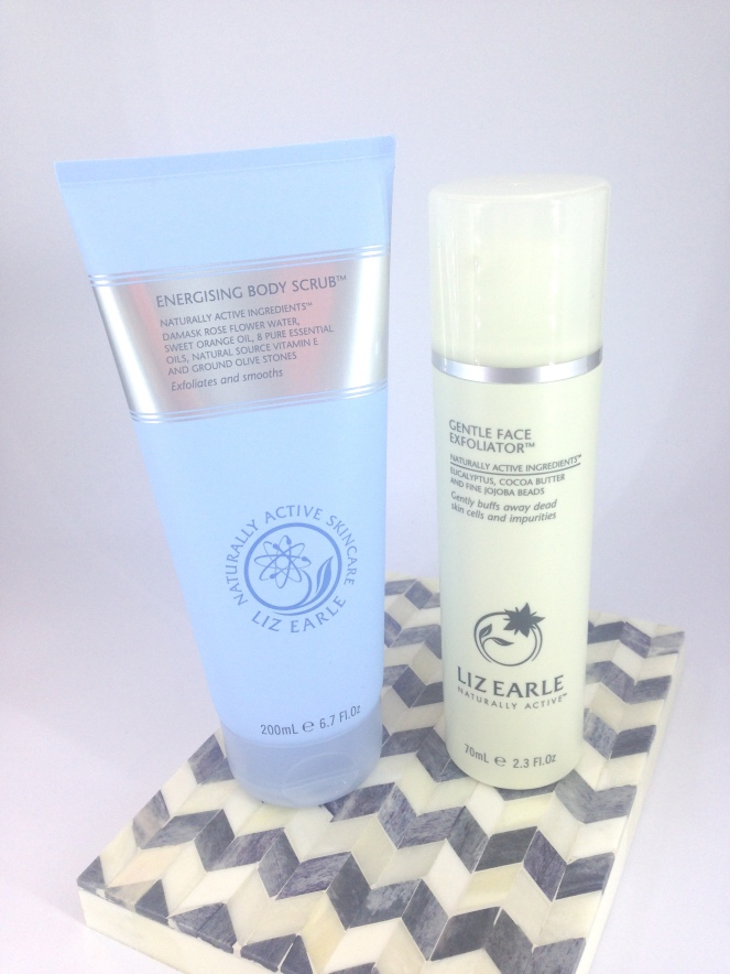 liz earle exfoliators