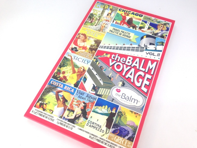 the balm voyage travel palette