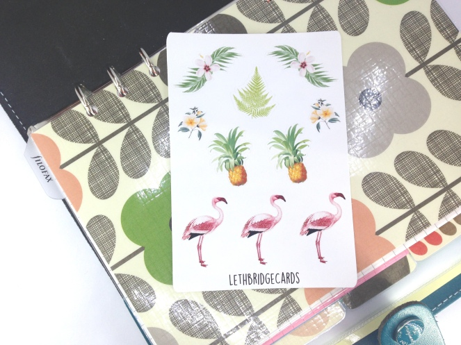 flamingo small sheet