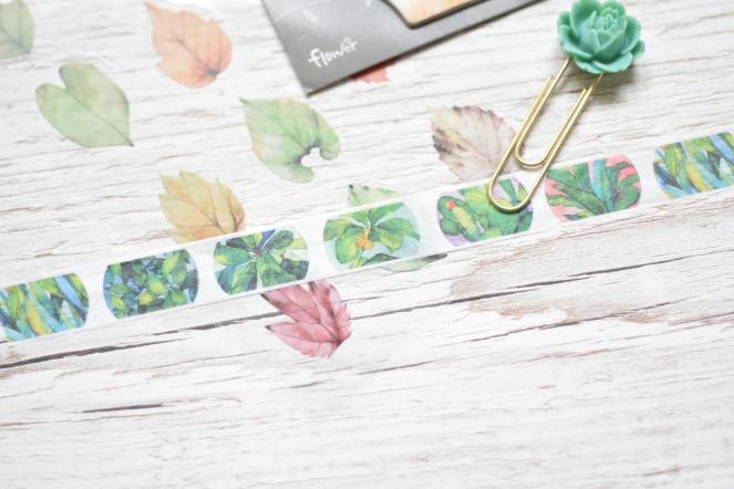 plant washi tape