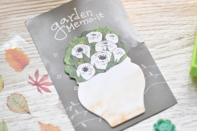 flower post its
