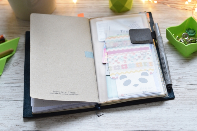 PVC pocket travelers notebook