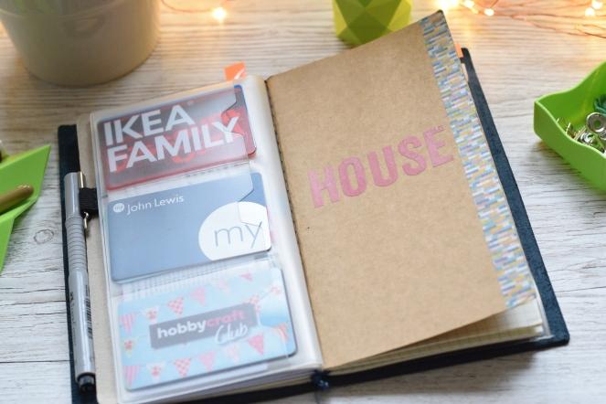inserts Midori travelers notebook